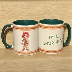 Tasse - Wichtelweihnacht Kieisge - Fröhliches Dingsbumsfest - Keramik