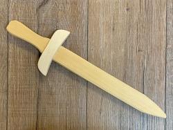 Holz Schwert - Kurzschwert - Fichte unbehandelt - 44cm