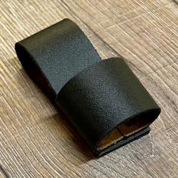 Dolch Halter - Wurfdolch einzeln - schwarz