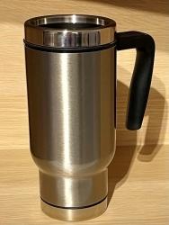 Tasse - Wunschmotiv - Thermo-Becher/ Travel Mug/ Coffee to go - weiß oder silber