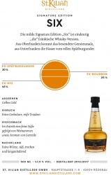 Whisky - St.Kilian - Signature Edition - 06 Six - 47,5% - 0,5l - Gold-Medaille World Spirits Award 2021
