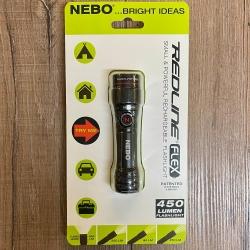 Leuchtartikel - Taschenlampe Nebo - REDLINE FLEX - 450 Lumen