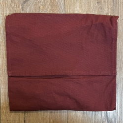 Tasche - Baumwolle - Umhängetasche einfach - bordeaux/ rot