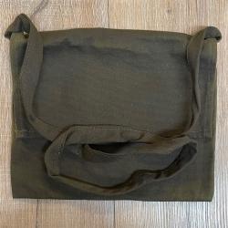 Tasche - Baumwolle - Umhängetasche einfach - braun