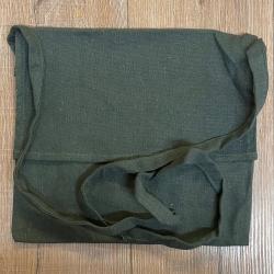 Tasche - Baumwolle - Umhängetasche einfach - grün
