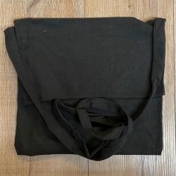 Tasche - Baumwolle - Umhängetasche einfach - schwarz