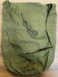 Tasche - Baumwolle - Umhängetasche LC mit Kordelzug - grobe Baumwolle - grün