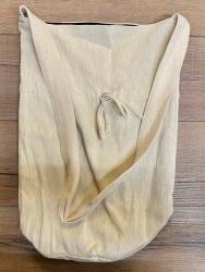 Tasche - Baumwolle - Umhängetasche LC mit Kordelzug - grobe Baumwolle - natur
