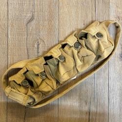 Tasche - Baumwolle - 5er Taschengürtel hellbraun/ shabby chic - Ausverkauf