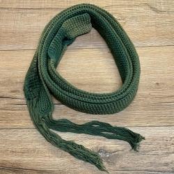 Gürtel - Damen - LC8590 Baumwollgürtel lang - grün - 2te Wahl