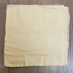 Tuch - Schal uni 100cm x 100cm - beige