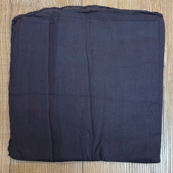 Tuch - Schal uni 100cm x 100cm - dunkelblau