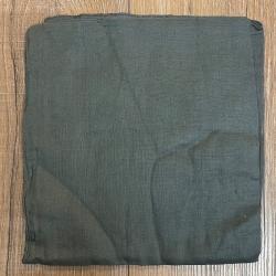 Tuch - Schal uni 100cm x 100cm - grau