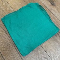 Tuch - Schal uni 100cm x 100cm - hellgrün