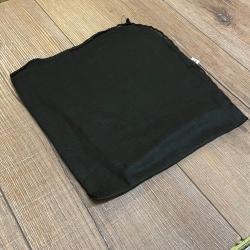 Tuch - Schal uni 100cm x 100cm - schwarz