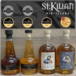 Whisky - St.Kilian - Bud Spencer - The Legend rauchig - 49% - 0,7l