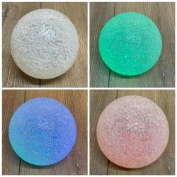 Leuchtartikel - CrystalBall Farbwechselkugel (PVC) - 10cm