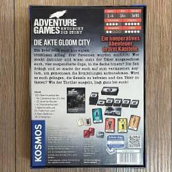 ADVENTURE GAMES - DIE AKTE GLOOM CITY - KOSMOS Verlag