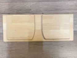 Meditation - Meditationsbank - Comfort Travel Buche - Höhe 19cm - einklappbar - Einzelstück