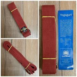 Yoga - Yogagurt - bordeaux - Ausverkauf