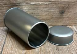 Gewürzdosen mit Deckel aus Metall - 4,6cm x 8,4xm