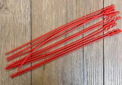 Zubehör - Kabelbinder wiederverwendbar ABV® 232 - rot