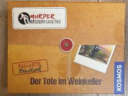 Murder Mystery - Case File - Der Tote im Weinkeller - KOSMOS Verlag - Krimi Party