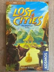 Spiel - Kartenspiel - Lost Cities - Abenteuer To Go - Kosmos Verlag