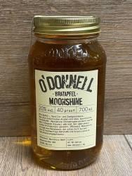 Moonshine O'Donnell - Bratapfel 20% vol. - 700ml - Likör ohne künstliche Aromen oder Farbstoffe
