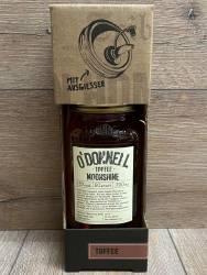 Moonshine O'Donnell - Toffee Kombi 25% vol. - 700ml - Likör ohne künstliche Aromen oder Farbstoffe - inkl. Ausgießer