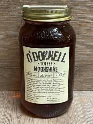 Moonshine O'Donnell - Toffee 25% vol. - 700ml - Likör ohne künstliche Aromen oder Farbstoffe