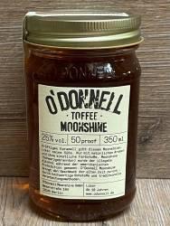 Moonshine O'Donnell - Toffee 25% vol. - 350ml - Likör ohne künstliche Aromen oder Farbstoffe