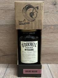 Moonshine O'Donnell - Wilde Beere Kombi 25% vol. - 700ml - Likör ohne künstliche Aromen oder Farbstoffe - inkl. Ausgießer