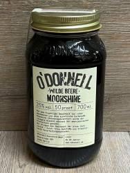 Moonshine O'Donnell - Wilde Beere 25% vol. - 700ml - Likör ohne künstliche Aromen oder Farbstoffe