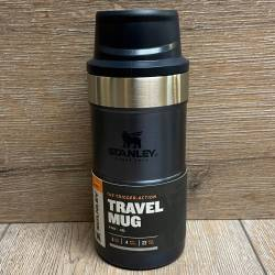 Stanley - Trigger-Action Travel Mug/ Thermo Becher 0,25l - blau