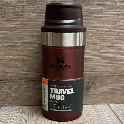 Stanley - Trigger-Action Travel Mug/ Thermo Becher 0,25l - rot