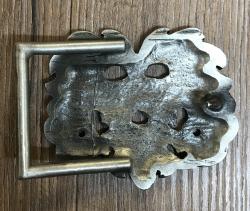 Gürtelschließe/ Buckle - Eichenkönig - Oak King - Hartzinn