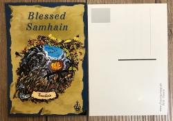 Postkarte - Jahreskreis - Samhain - Herbstmitte