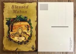 Postkarte - Jahreskreis - Mabon - Herbst- Tag- & Nachtgleiche (Alban Elfed)