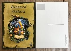 Postkarte - Jahreskreis - Ostara - Frühlings- Tag- & Nachtgleiche (Alban Eilir)