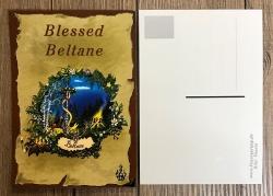 Postkarte - Jahreskreis - Beltane - Frühlingsmitte