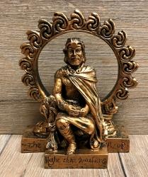 Statue - Sonnengott - Lugh klein - Bronzefarben - Dekoration - Ritualbedarf