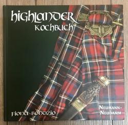 Buch - Highlander Kochbuch - Fiona Bondzio - Ausverkauf