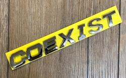 Auto Logo - Coexist
