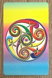 Taschen Altar - Keltische Spirale