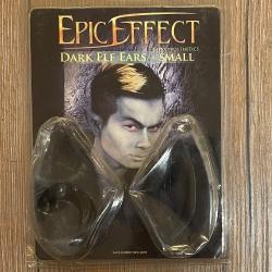 Epic Effect - Latex Applikation - Dunkel-Elfenohren klein - Ausverkauf