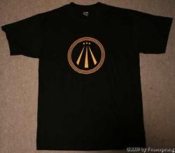 T-Shirt - Druid on Tour - AWEN - Größe 3XL - schwarz