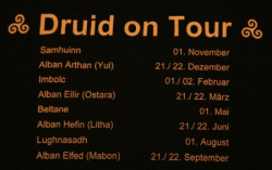 KaPu - Druid on Tour - AWEN - Größe XL - bordeaux