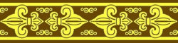 Individuelle Borte 2 Farben - 19mm breit - 800m - 10m Rollen