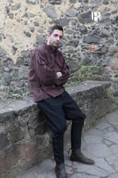 Hose - Wikingerhose Ulfbert Baumwolle - schwarz - Burgschneider